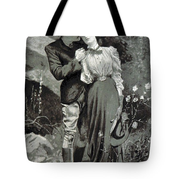 Valentines Day, 1898 Tote Bag