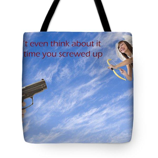 Valentines Day Humor Tote Bag