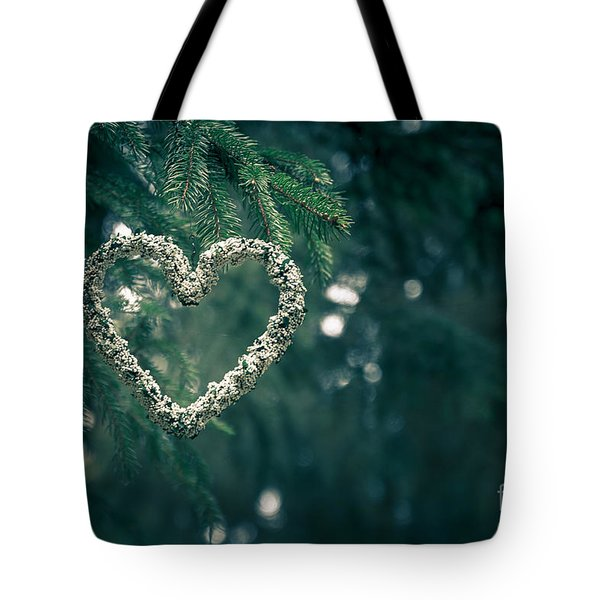 Valentine's Day In Nature Tote Bag by Andreas Levi