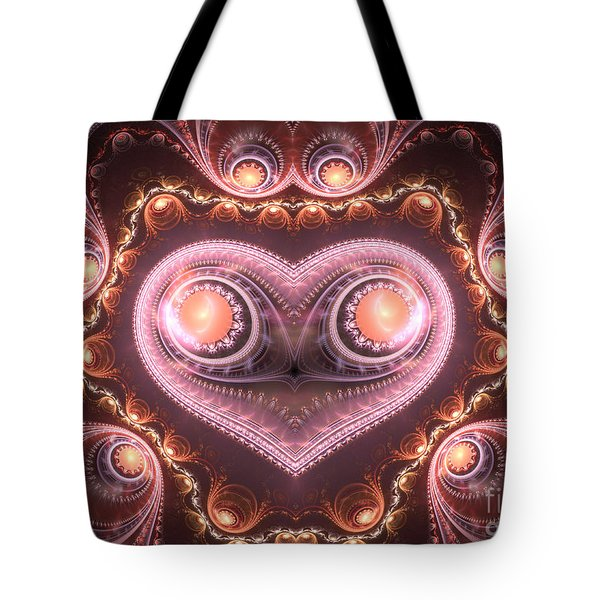 Valentine's Premonition Tote Bag by Svetlana Nikolova