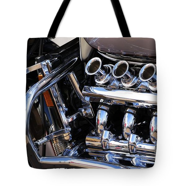 Valkyrie 2 Tote Bag by Wendy Wilton
