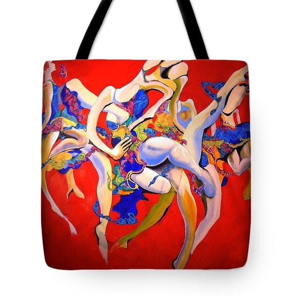 Valkyries Tote Bag by Georg Douglas