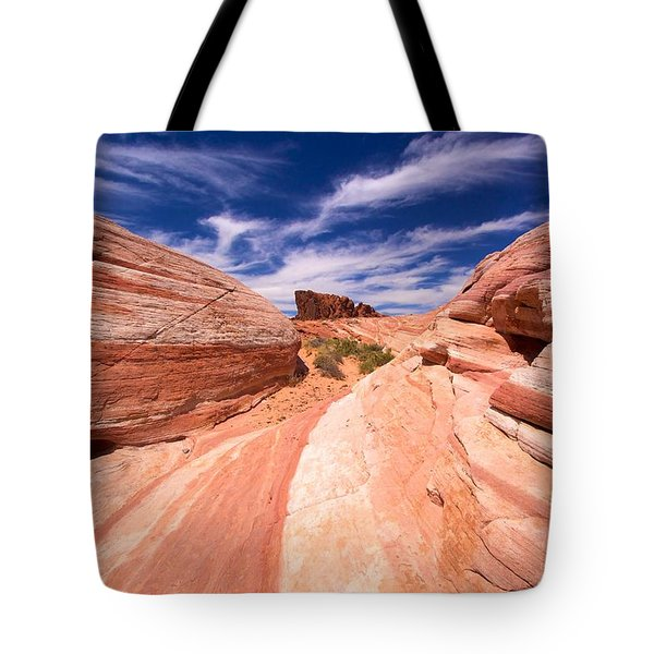 Valley Of Fire 2 Tote Bag