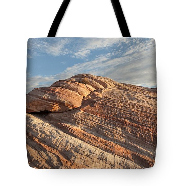 Valley Of Fire Morning Tote Bag