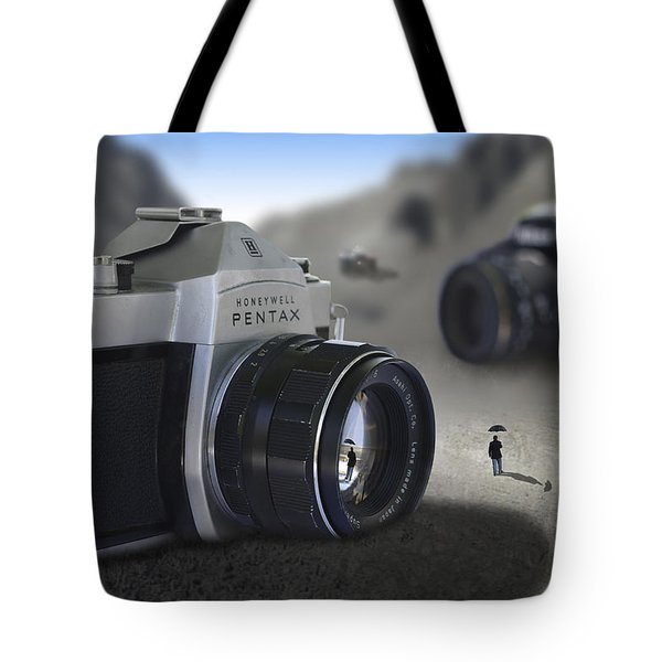 Valley Of The Fallen Tote Bag by Mike McGlothlen