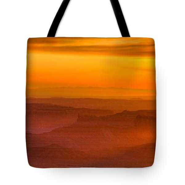Valley Of The Gods Sunrise Utah Four Corners Monument Valley II Tote Bag