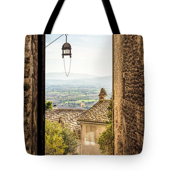 Valley Outside Assisi Tote Bag