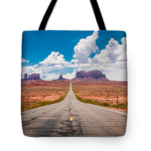 Valley Road Tote Bag