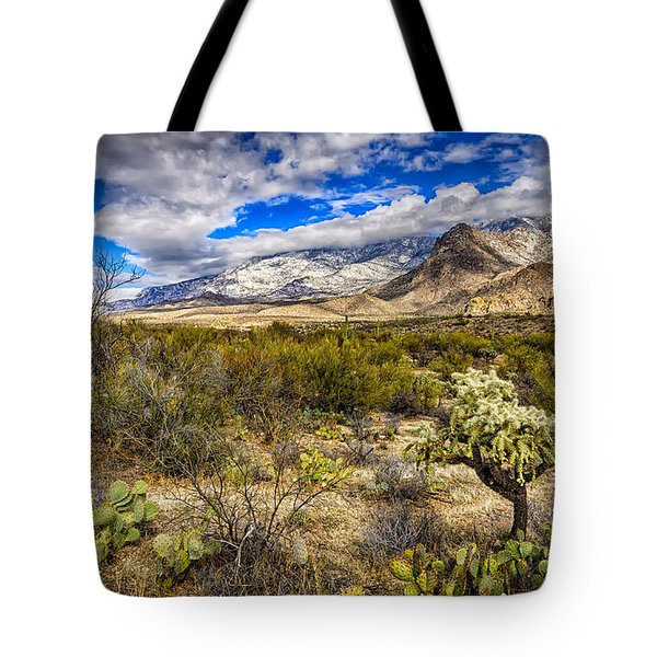Tote Bag featuring the photograph Valley View 27 by Mark Myhaver