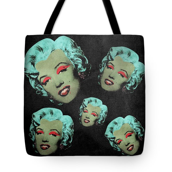 Vampire Marilyn 5a Tote Bag by Filippo B