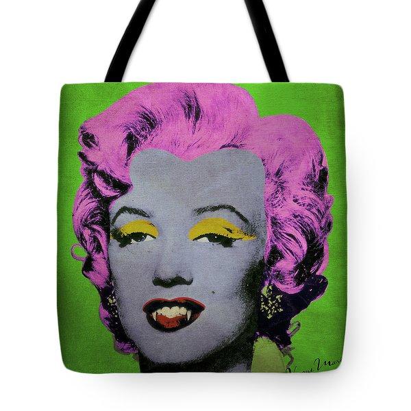 Vampire Marilyn Variant 2 Tote Bag by Filippo B