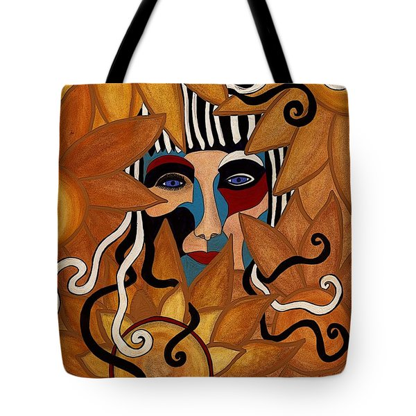 Van Gogh Meets Picasso Tote Bag by Barbara St Jean