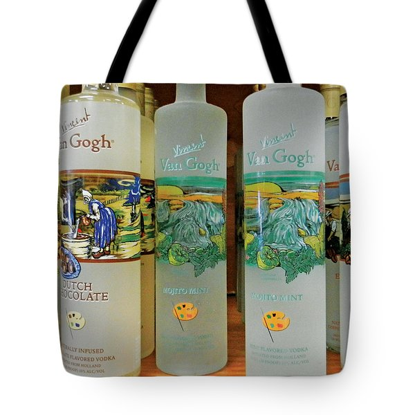 Van Gogh Spirits Tote Bag