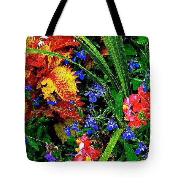 Van Gogh's Garden Tote Bag by Ira Shander