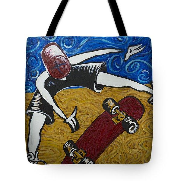Van Gogh's Half Pipe Tote Bag by Doug LaRue