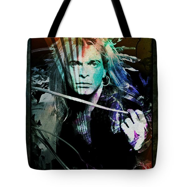 Van Halen - David Lee Roth Tote Bag