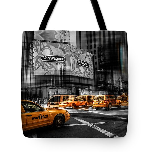 Van Wagner - Colorkey Tote Bag