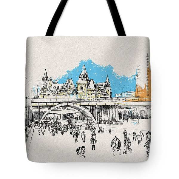 Vancouver Art 003 Tote Bag by Catf