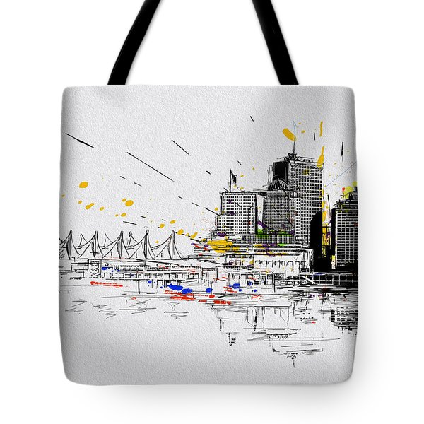 Vancouver Art 004 Tote Bag by Catf