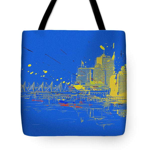 Vancouver Art 005 Tote Bag by Catf
