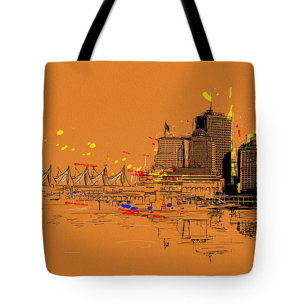 Vancouver Art 006 Tote Bag by Catf