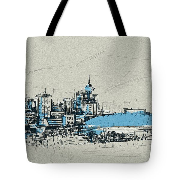 Vancouver Art 008 Tote Bag by Catf