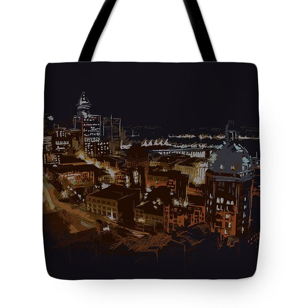 Vancouver Art 009 Tote Bag by Catf