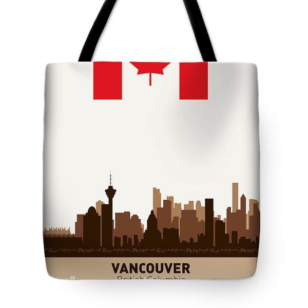 Vancouver British Columbia Canada Tote Bag