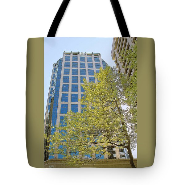 Vancouver Silhouettes No 1 Tote Bag by Ben and Raisa Gertsberg