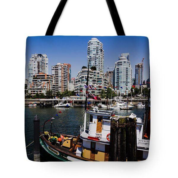 Vancouver Views Tote Bag