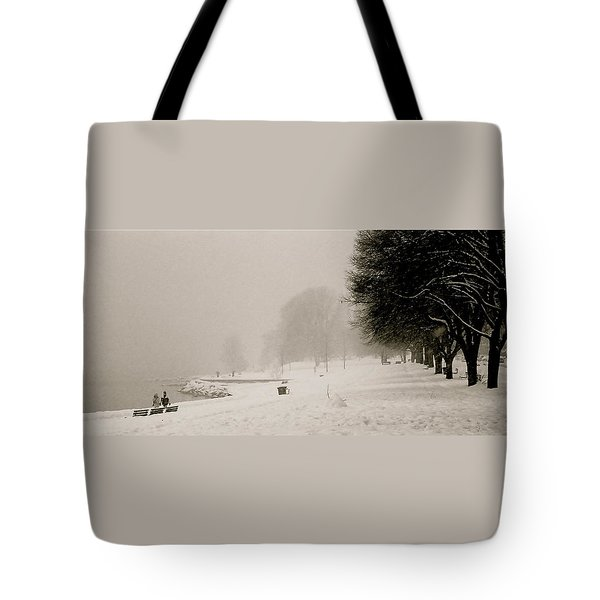 Vancouver Winter Tote Bag