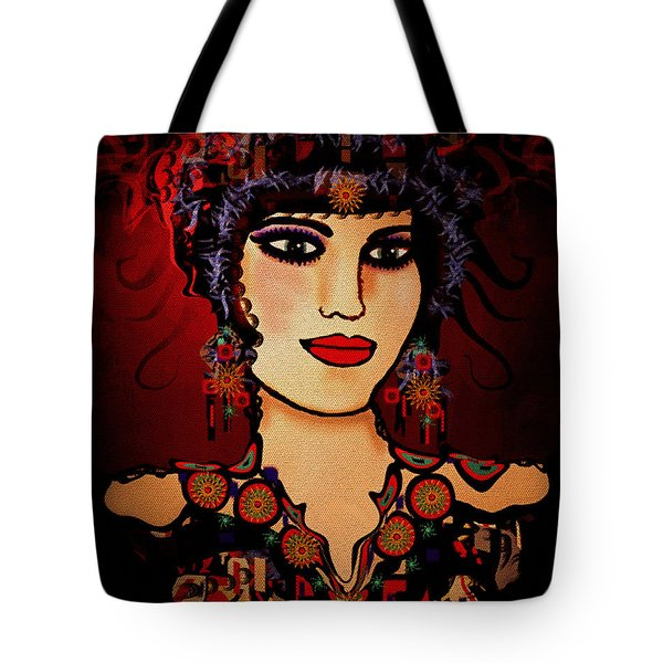 Vanessa Tote Bag by Natalie Holland