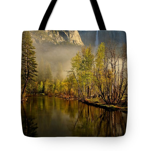 Vanishing Mist Tote Bag