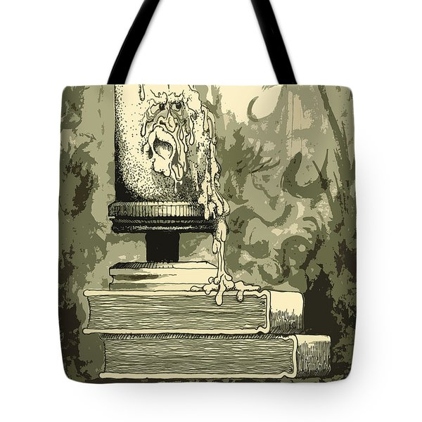 Bougie Tote Bag by Julio Lopez