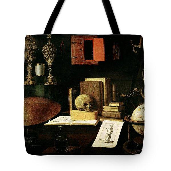Vanitas Still Life, 1641 Oil On Canvas Tote Bag