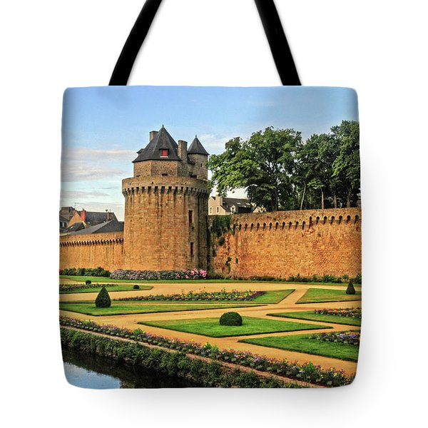 Tote Bag featuring the photograph Vannes In Brittany France by Dave Mills