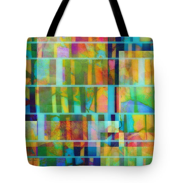 Variation On A Theme Abstract Art Tote Bag by Ann Powell