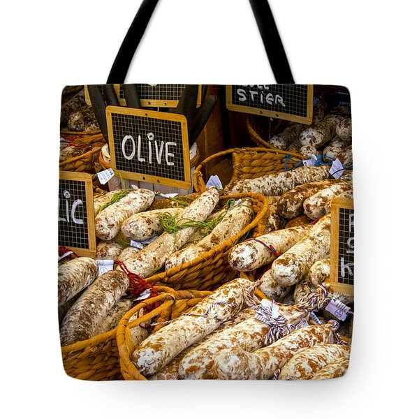 Variety Of Flavors Tote Bag by Bob Phillips