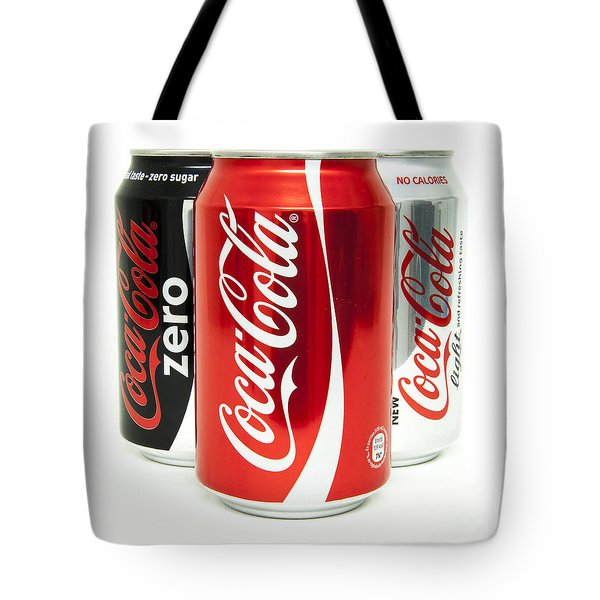 Various Coke Cola Cans Tote Bag