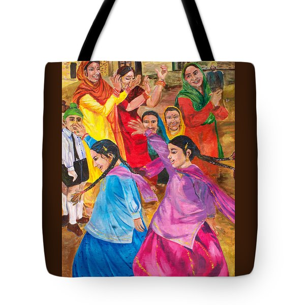 Vasakhi In A Punjab Village Tote Bag