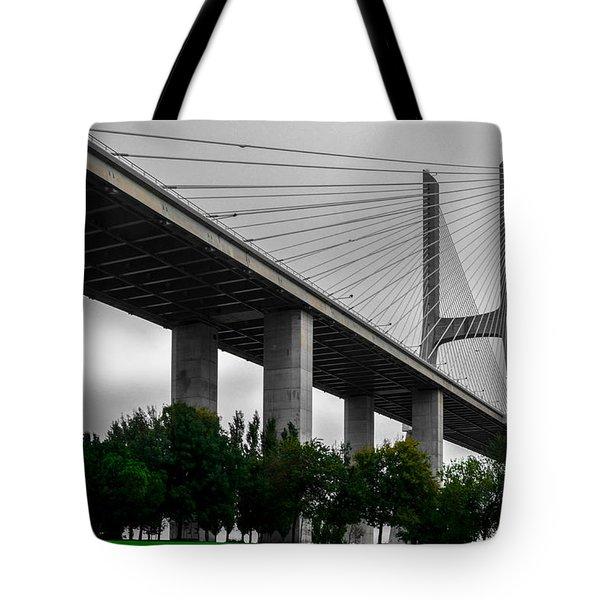 Vasco Da Gama Bridge II Tote Bag