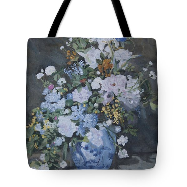 Vase Of Flowers - Reproduction Tote Bag