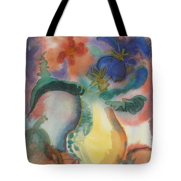 Vase Still Life 1 Tote Bag
