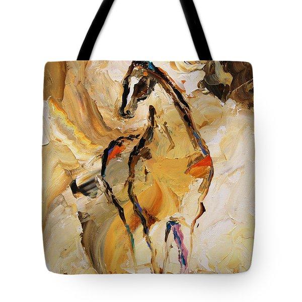 Vast Horse 7 Of 100 2014 Tote Bag