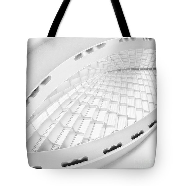 Vaulted Tote Bag