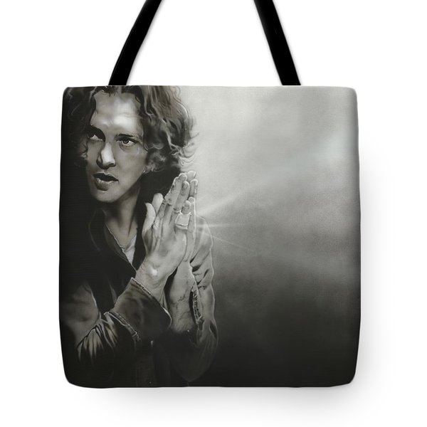 Eddie Vedder - ' Vedder Iv ' Tote Bag by Christian Chapman Art