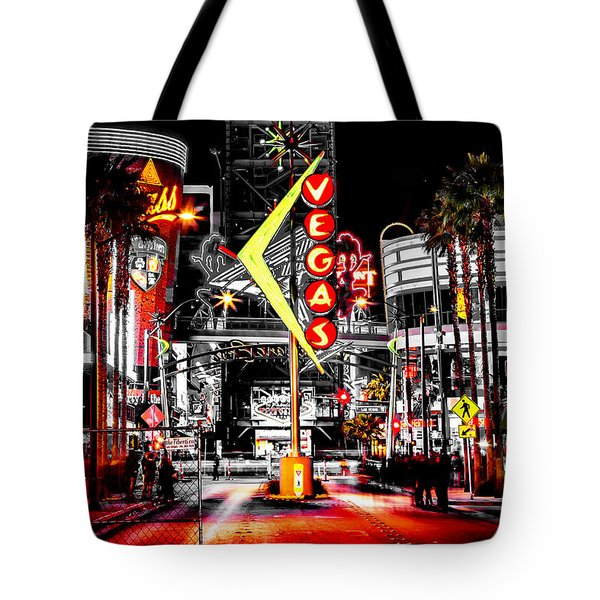 Vegas Nights Tote Bag