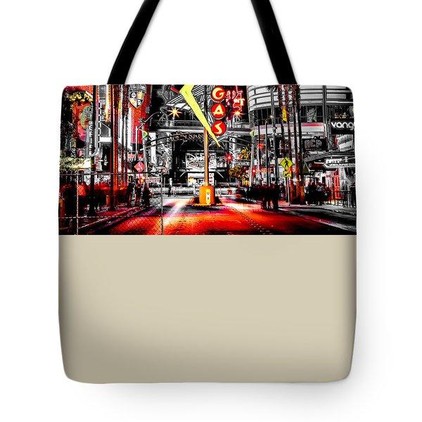 Vegas Nights Tote Bag