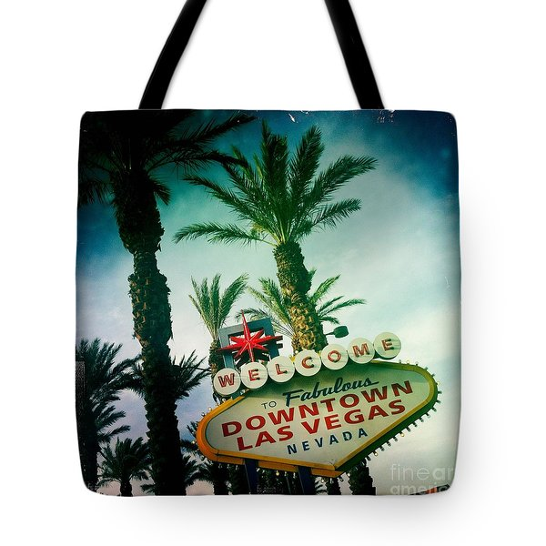 Vegas Tote Bag by Nina Prommer