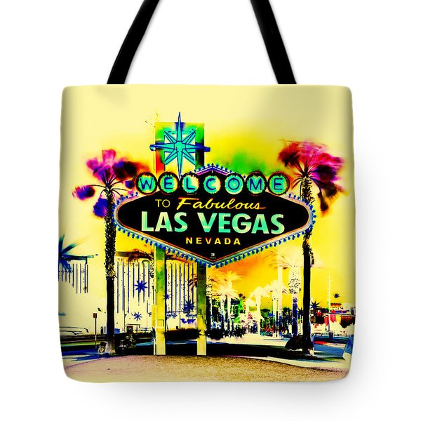 Vegas Weekends Tote Bag by Az Jackson